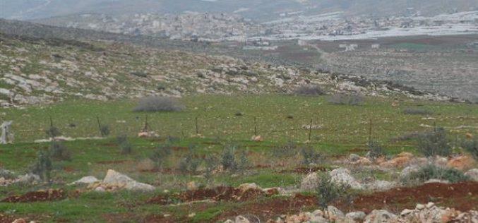 Eviction order on tens of dunums in Khirbet Um al-Kbaish