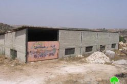 The occupation threatens  two barracks with demolition in Idhna