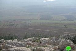 مصادرة خزانات للمياه وأشتال حرجية في خربة عينون