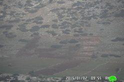 مصادرة مركبة وأسيجة زراعية وعدد زراعية في قرية التياسير / محافظة طوباس
