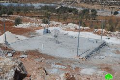 Demolition orders on 4 water cisterns carried out by Land Research Center in Hebron