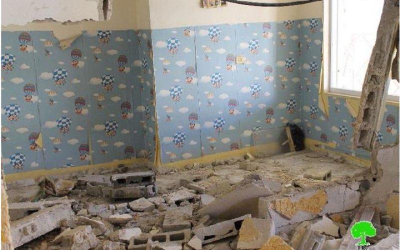 الانتهاكات الإسرائيلية في القدس المحتلة خلال شهر كانون أول من العام 2014