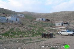 The Israeli occupation notifies the Bedouin community Arab al-Kabana with eviction