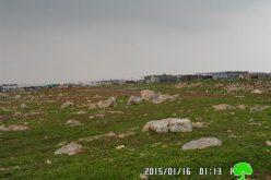 الاحتلال الإسرائيلي يهدم ثلاث بركسات زراعية في قرية مخماس