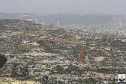 Land Leveling in Khallet Al-Nahle village south of Bethlehem Governorate