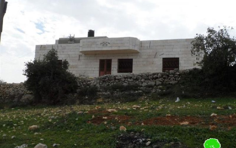 Stop-work orders on Palestinian residences in East Hebron