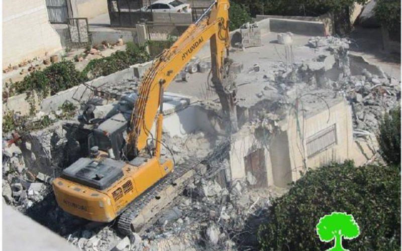 الانتهاكات الاسرائيلية في القدس المحتلة خلال شهر كانون الثاني 2015