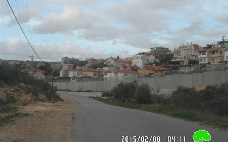 Shaare Tikva colony sewer system: A threat on  at Azzun village lands