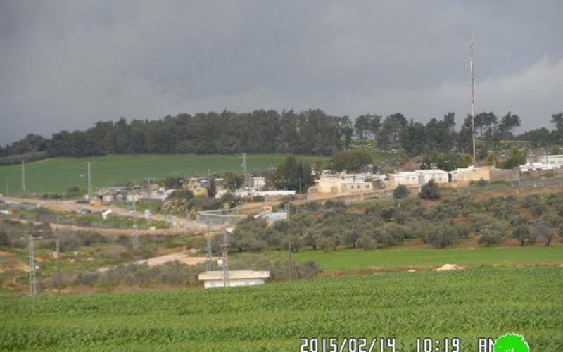 The Israeli  military camp Salim threatens the  lives of Jenin residents
