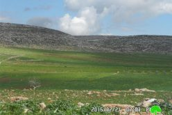 The Israeli occupation bans rehabilitation works on cisterns in Nablus