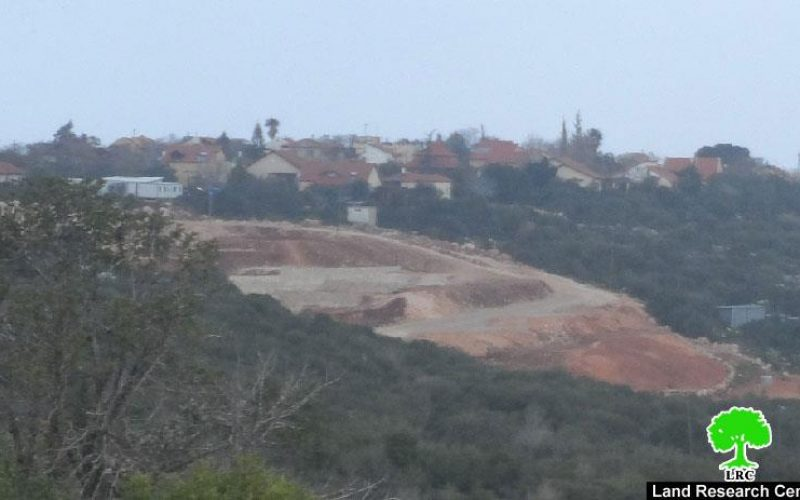Expansion works on Yakir colony at the expense of Deir Istiya lands