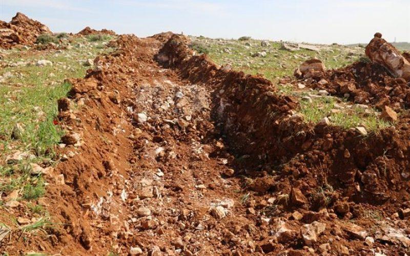Land Leveling in Kisan Village South of Bethlehem Governorate