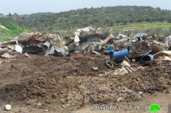 The Israeli occupation demolishes residential structure and a power grid in Jenin