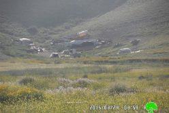 مصادرة صهريجين لنقل الماء في خربة الفارسية / محافظة طوباس