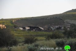 Demolition orders on agricultural and residential structures in Tubas