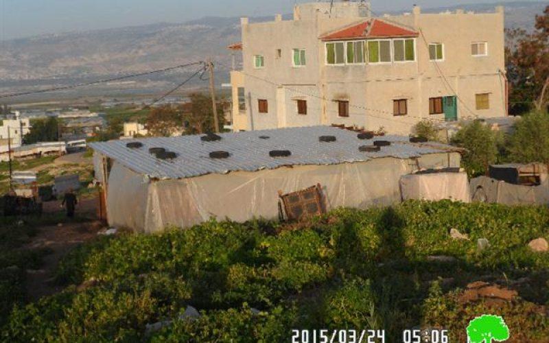 Demolition order on agricultural barracks in the village of Bardala