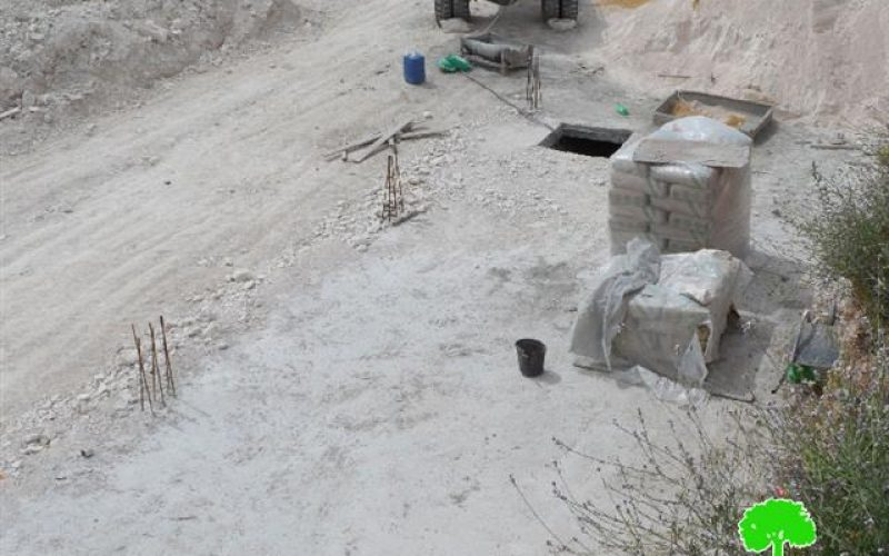 Stop-work orders on structures in the Hebron village of Dura