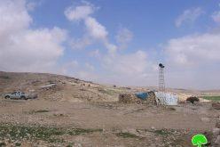 إخطارات بوقف العمل في 3 غرف للسكن بخربة جنبه شرق بلدة يطا / محافظة الخليل