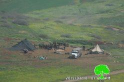 التدريبات العسكرية في الأغوار تدمر الأخضر واليابس