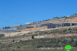 Expansion works on the industrial zone of Barkan colony at the expense of the Salfit villages of Haris and Bruqin