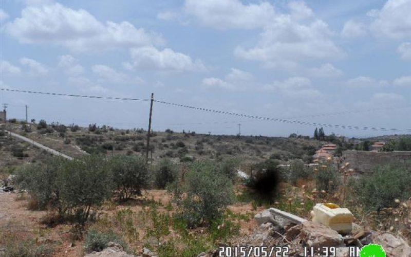 شركة إسرائيلية تسعى الى سرقة أراضي في قرية مسحة عبر التزوير