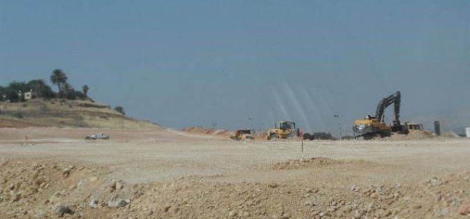 The Israeli colony of Shadmot Mehola goes under expansion