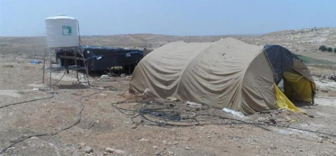 Stop-work orders on structures in the Hebron village of Susiya