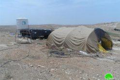 إخطارات بوقف العمل في منشأتين زراعيتين في قرية سوسيا