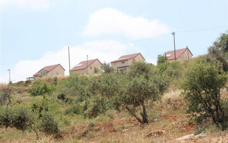 """البؤرة الاستعمارية """" هيوفال """" تلوث وتدمر البيئة الزراعية في قرية قريوت"""