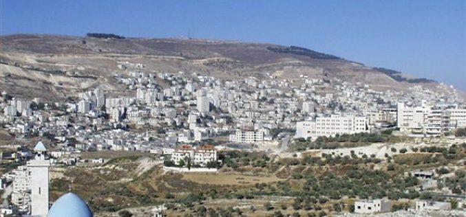 اسرائيل بصدد السماح للمستوطنين بالاستيلاء على منطقة جبل عيبال في محافظة نابلس
