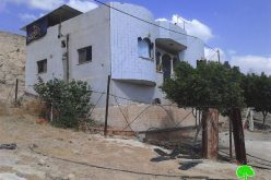 Demolition notifications on four residences in the Jericho area of al-Jiftlik
