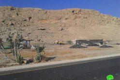 تسليم 3 عائلات في منطقة الأغوار الشمالية اخطارات بالهدم لمساكنهم وحظائرهم