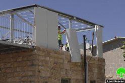 بلدية الاحتلال تهدم جزءاً من مسكن في شارع صلاح الدين في القدس المحتلة