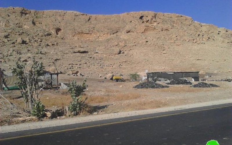 Demolition orders on barns and residences in Tubas governorate