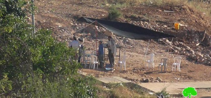 Colonists sabotage a cistern in Hebron