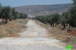 Itamar colonists ban surveying works in Aorta-Yanun road