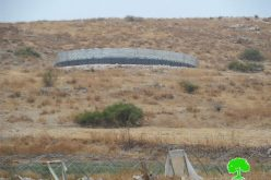 إخطار بوقف العمل لخزان مياه في قرية كردلة