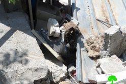 """الاحتلال يهدم منزلاً في """" بيت خيران """" شمال مدينة حلحول"""