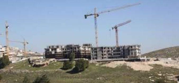 &#8220;بالاضافة الى 1079 كرفانا&#8221; <br> اسرائيل تبني اكثر من مليون متر مربع في 162 مستوطنة ما بين العامين 2012 و 2014
