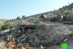 The Israeli occupation demolishes the residence of Abu Al-Hayja family in Jenin governorate