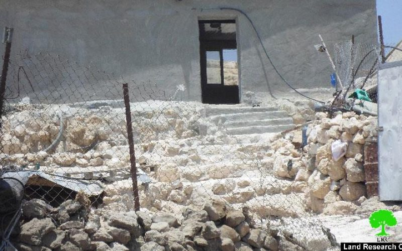 Demolition orders on residences in the Hebron area of Masafer Yatta