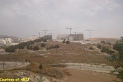 Israeli occupation authorities order construction halted at two Palestinian structures in Beit Sahour city