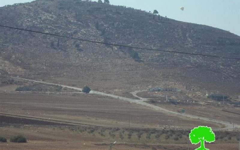 Extending the validity of a land grab in the Nablus village of Salim