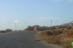 The Israeli Forces shut the entrance of Beit Dajan with earth mounds