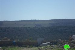 The Israeli Occupation establishes a watchtower in Dhaher Soboh area