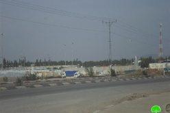 الاحتلال الاسرائيلي يتخذ سلسلة خطوات للتضييق على التجار الفلسطينيين في محيط حاجز الجلمة العسكري