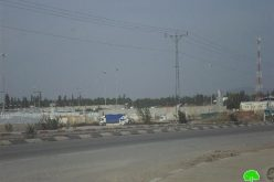 The Israeli occupation takes new measurements to harass Palestinian merchants in the periphery of Al-Jalama checkpoint