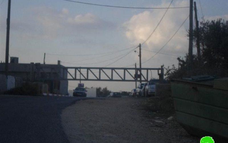 إعادة إغلاق مدخل بلدة كفل حارس الجنوبي