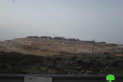 الاحتلال الاسرائيلي يجري حفريات واسعة في منطقة دير سمعان الأثرية لصالح الاستيطان