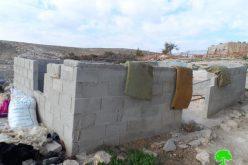 الاحتلال يهدد بهدم مسكنين في خربة المفقرة شرق يطا